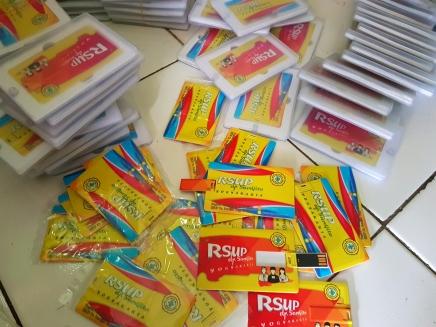 Flashdisk Kartu Pesanan RSUP DR. SARDJITO